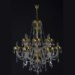 Glass chandeliers Murano